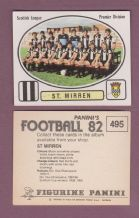 St Mirren Team